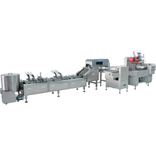 FULL AUTOMATIC SANDWICHING AND ON-EDGE PACKING MACHINE