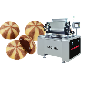 Tricolor filled cookie depositor