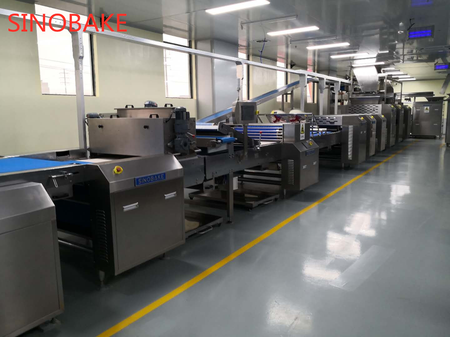 Soft & Hard Biscuit Production Line
