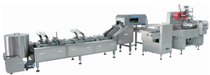 Automatic Double Lane Sandwich And on Edge Packing Machine